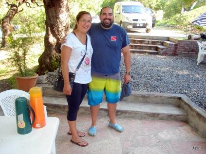 "Melisa y Javier ""El Buzo"""