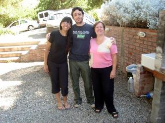 Carolina, Sebastian y Ana