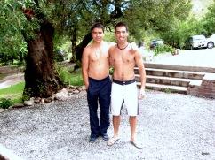 Marcelo y Nicolás