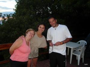 Ana, Deby y Hernán