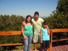 Ayelén, Juan Pablo y Zair