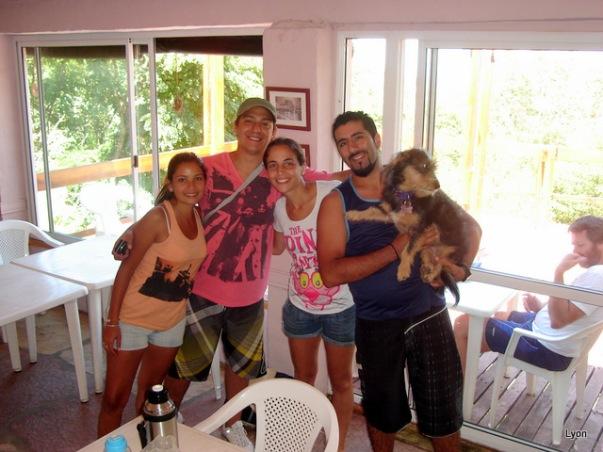Romina, Sergio, Cathalina