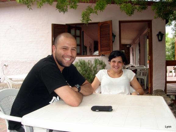 Alvaro y Gabriela