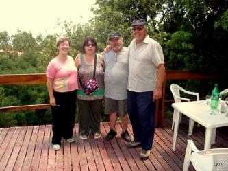 Mi amigo Saverio y familia