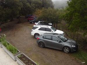 Estacionamiento en las nubes...
