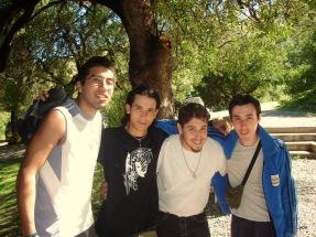 Matias, Jorge, Jonatan y Javier
