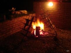 Chivito a las llamas y de paso, asadito!