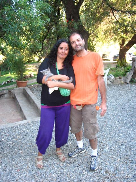 Claudia yJavier con Mei-Mei