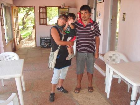 Fabian, Lucila y Lisandro