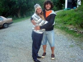 Sofía y Luis muy felices esperando la cigüeña!!