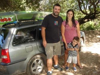 Gustavo, Verónica y Ignacio Estevez