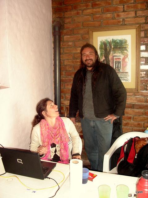 Analía Rezk y Diego Huerga