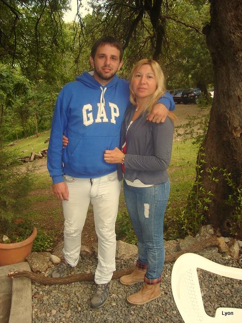 Rodrigo Cena y Laura