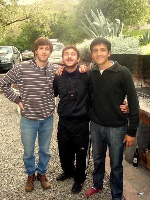 Matias, Agustín y Diego