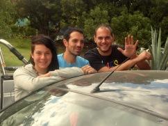 Daniela, Lucas y Nicolás