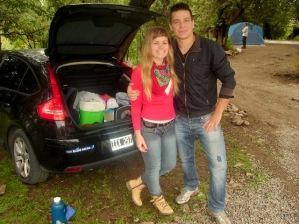 Los uruguayos, Dominique López y Ezequiel Spera