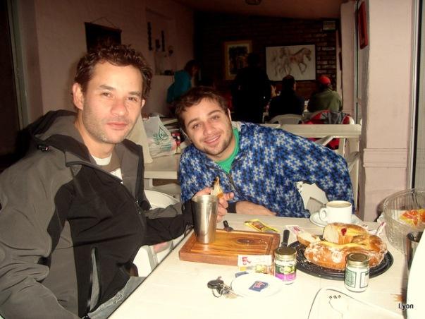 Gastón Cingolani y su amigo (no completaste la ficha)!!!