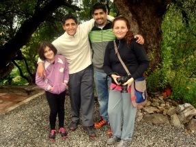 Verónica y su linda familia