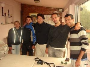Laura, Rodrigo, Fede, José y Emiliano