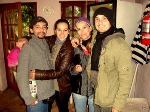 Vero, Ailin, Nico y Emiliano