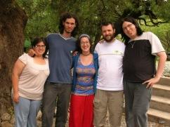 Amigos con Candela y Martín