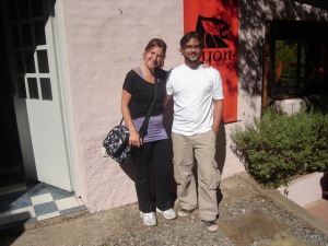 Vanesa y Juan Pablo