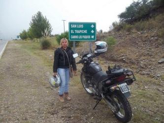 Laura paseando por San Luis