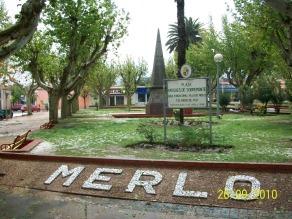Plaza de la Villa de Merlo