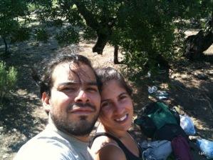 Matt y Mery autofoteados ja!!
