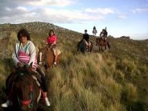 Cabalgatas en el Filo Serrano.
