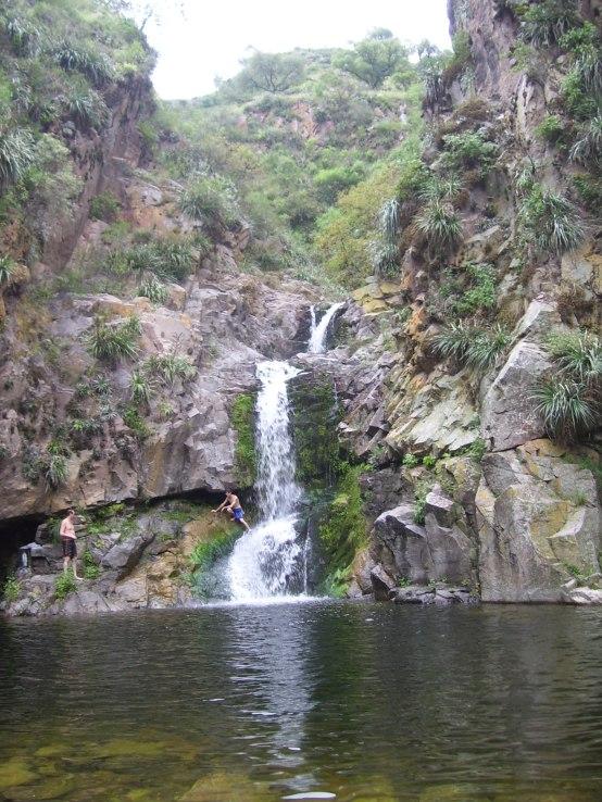Cascada de Cura Brochero