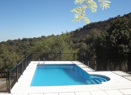 Vista de la piscina.
