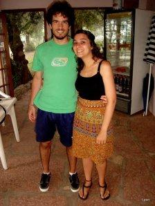Nicolás y Claudia