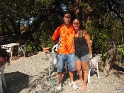 Maximiliano y Paola