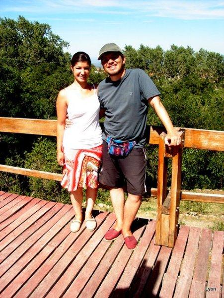Pamela y Sebastian