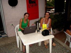 Lucia y Carolina