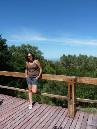 Pose turística de Susana