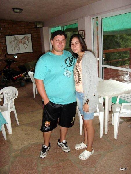 Cristian y Vicki
