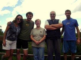 Fotos con nuestros amigos...