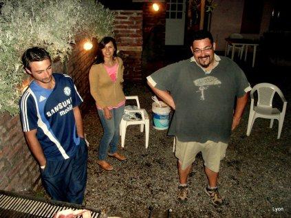 Nestor, nuestro chef se rie...jaja!!