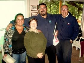 Laura, Any, Nestor y yo.