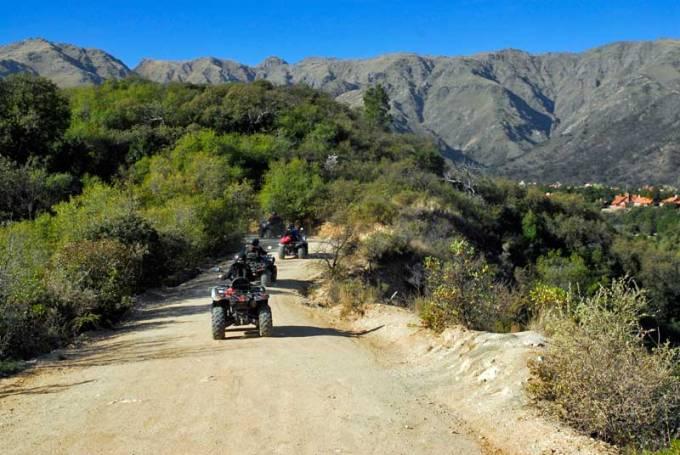 Paseo en cuatriciclo por el Parque Los Nogales
