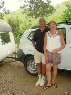 Pipo y Sra. disfrutando
