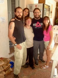 Valeria Fernández Pascual y el Agu + la tropa del Camping!!
