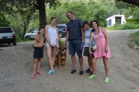 Andrea Rico y familia (y Otto!)