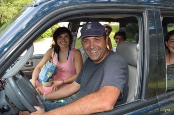 Andrea Rico y familia...